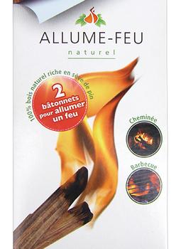 Allume feu naturel bâtonnet