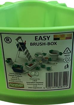 Easy brush box