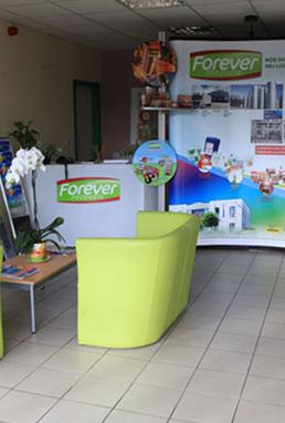 entrée du centre Forever Products