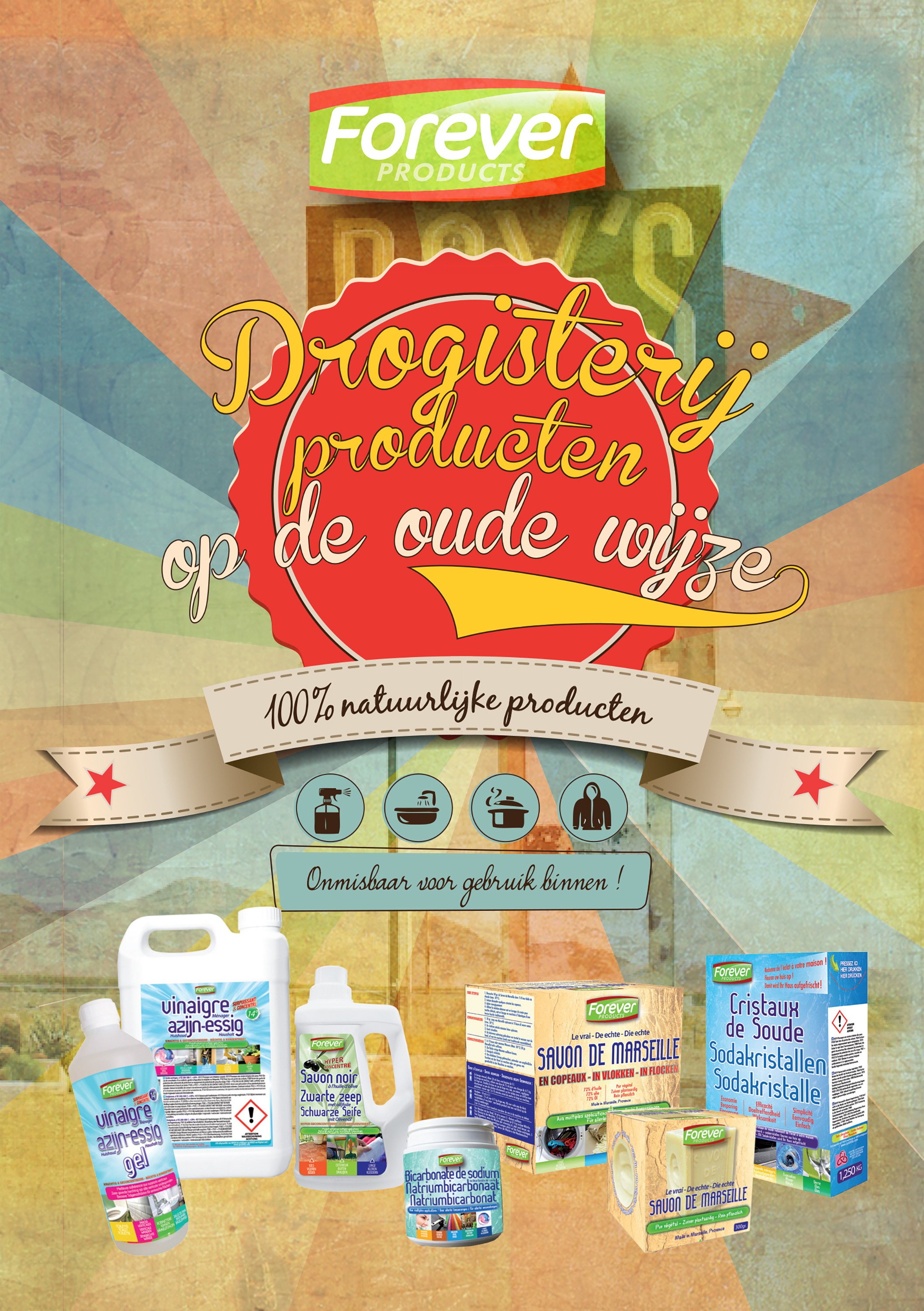 Couverture brochure Droguerie à l'ancienne NL FOREVER PRODUCTS