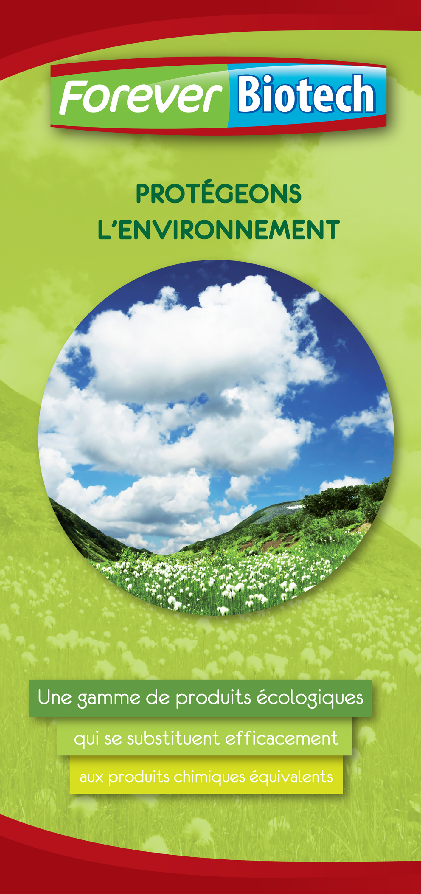 Couverture brochure FR Forever Biotech FOREVER PRODUCTS