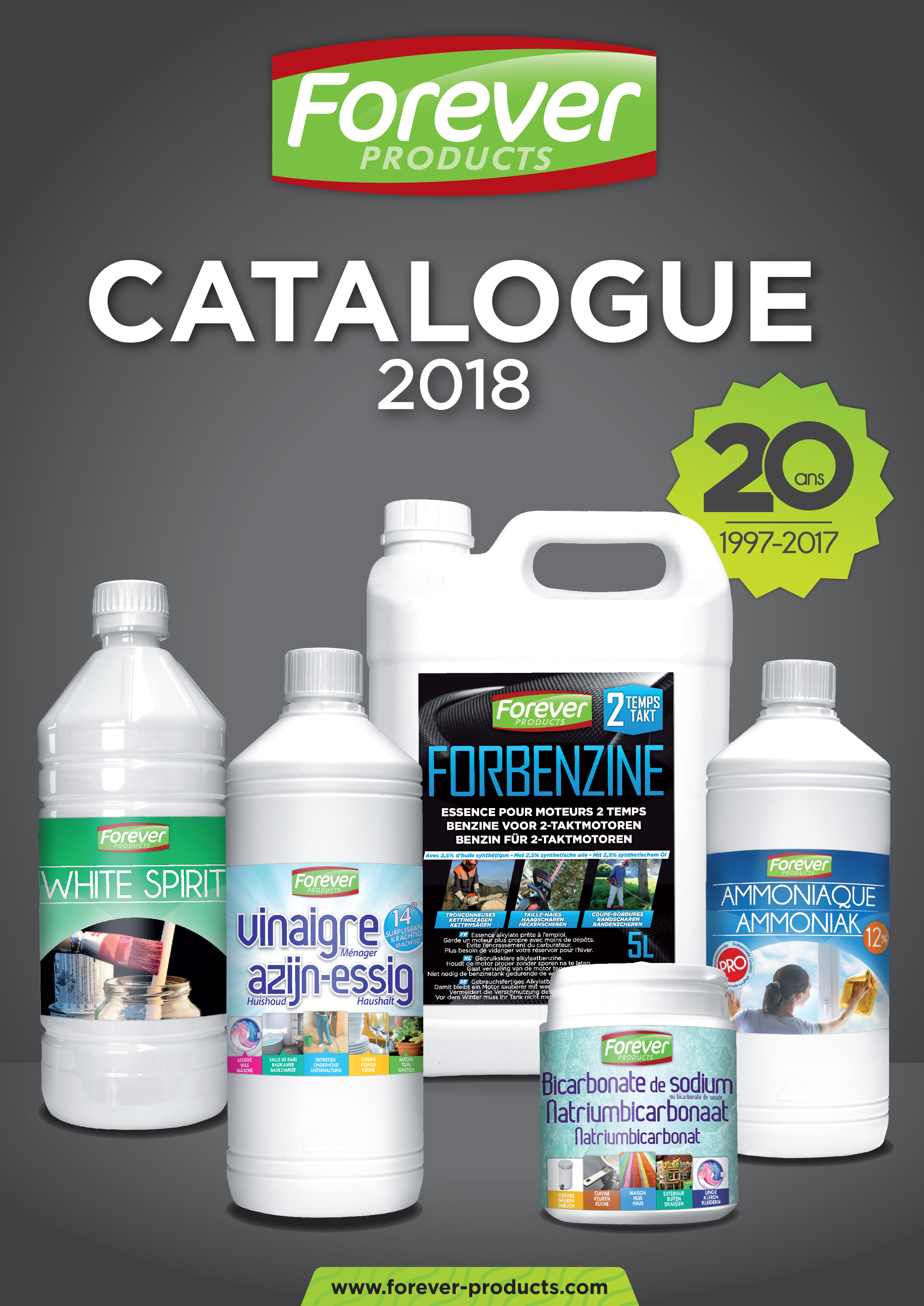 Couverture catalogue complet 2018 FR FOREVER PRODUCTS