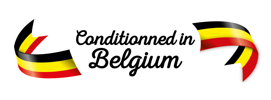 Conditionned in Belgium